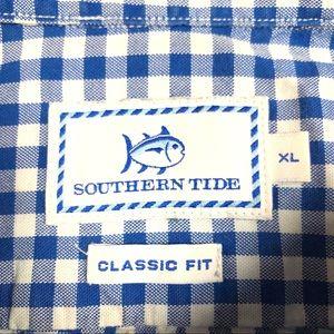 Southern Tide Shirts - Southern Tide Skipjack Button Down Shirt Mens XL